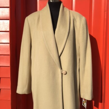 J Percy for Marvin Richards cashmere coat