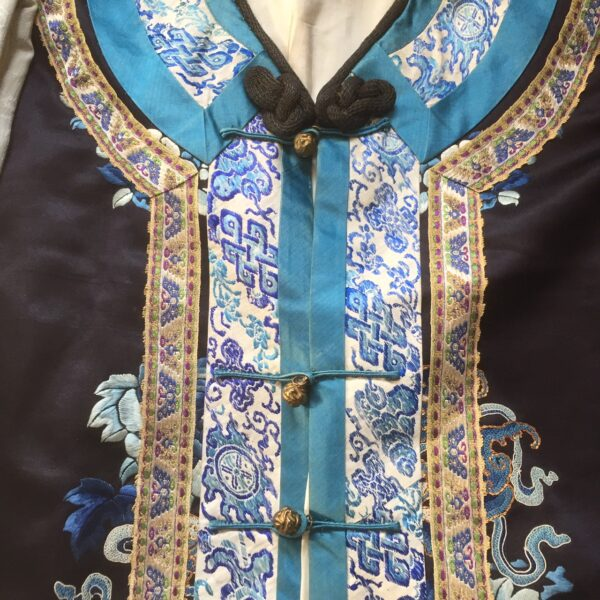 Antique Embroidered Chinese Robe