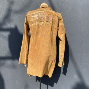 Call and Response custom made Leather Coat