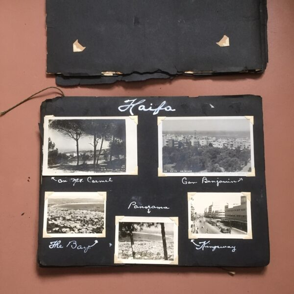 Middle East scrapbook photo book